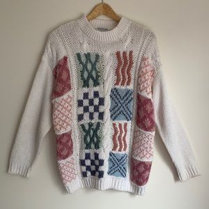 VINTAGE | Katies hand knitted sweater